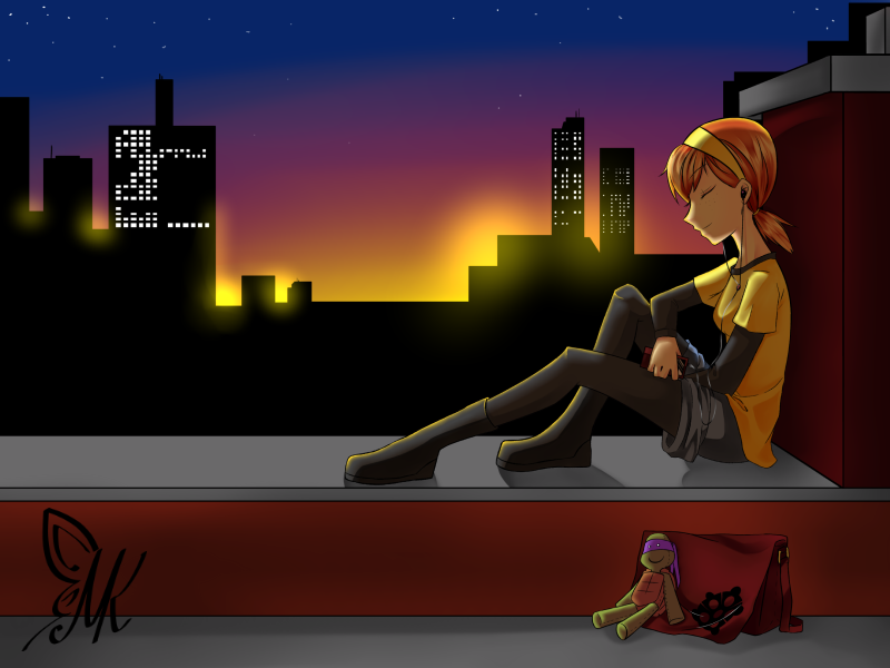 Rooftop by RukiChitsuki69