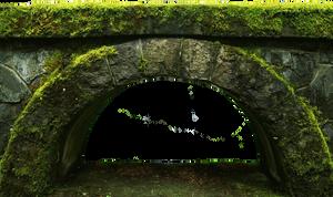 Cutout Old Bridge