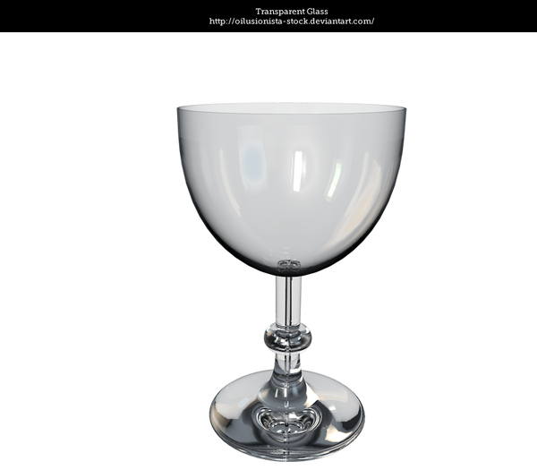 Transparent Glass by oilusionista-stock
