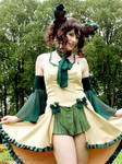 Leafeon cosplay 1