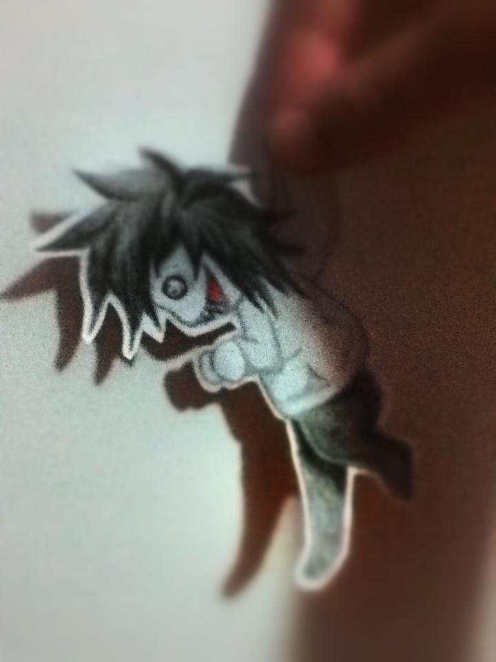 Jeff The Killer Paper Chibi by xJeffThePshycoKiller