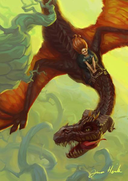 Dragon Rider by Suncut