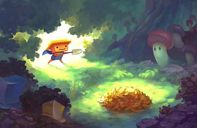 Sproggiwood Promotional Art by Suncut
