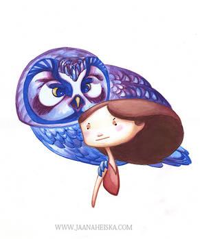 Eye of an Owl