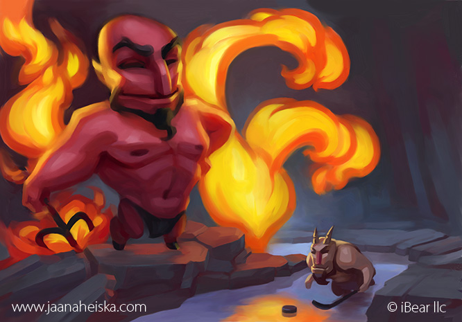 Satan Illustration by Suncut
