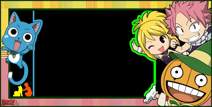 Fairy Tail Frame - NaLu by memen021 on DeviantArt