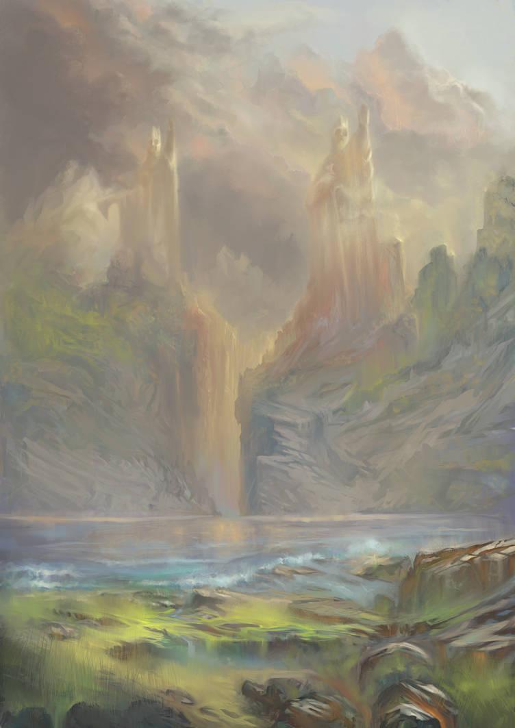 Argonath by Helroir