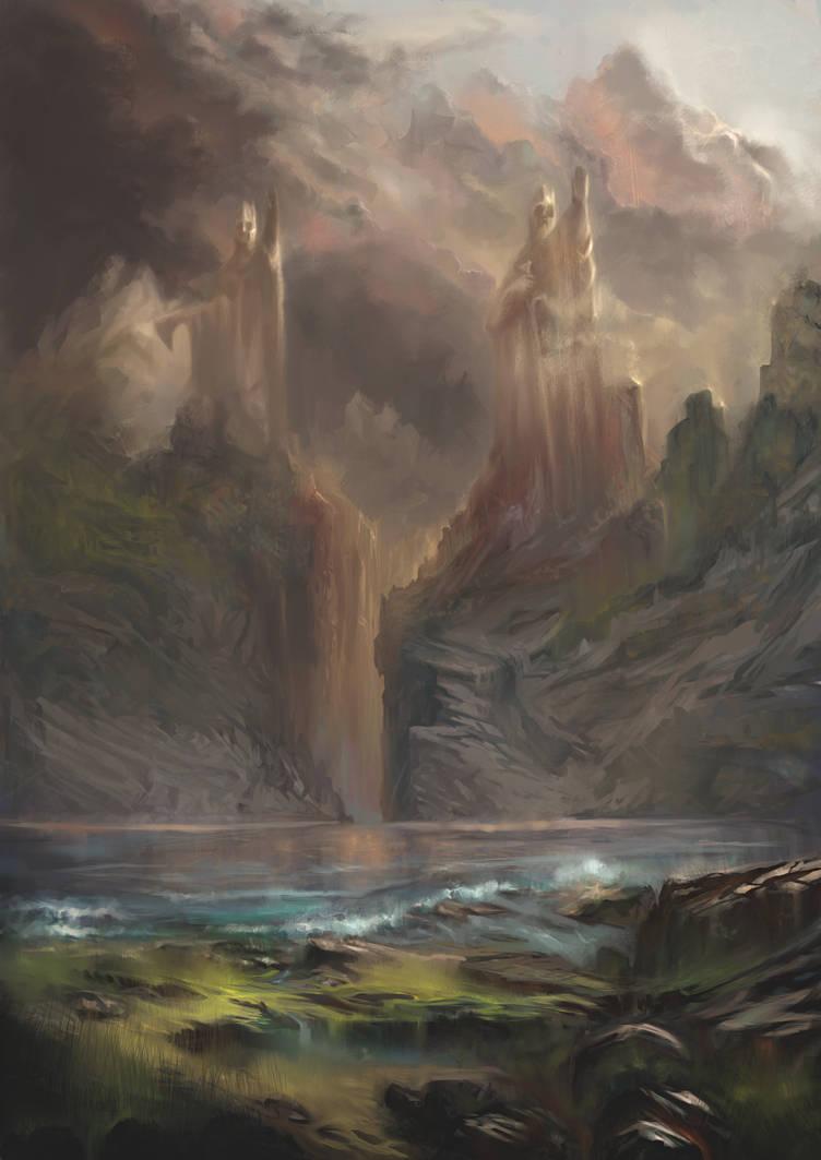 Argonath remastered version by Helroir