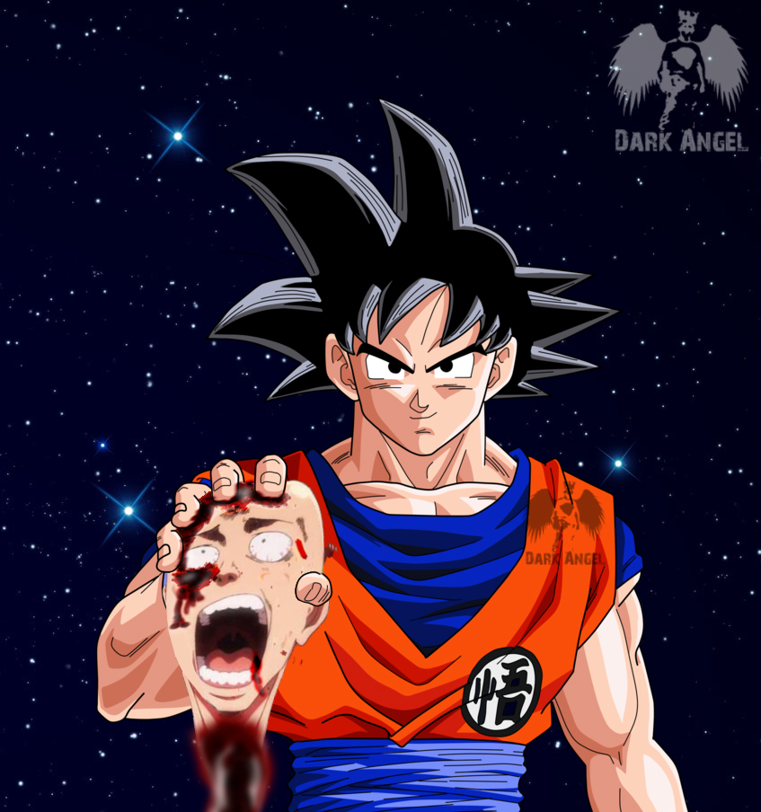 Goku Vs One Punch Mansaitama By ArjunDarkangel