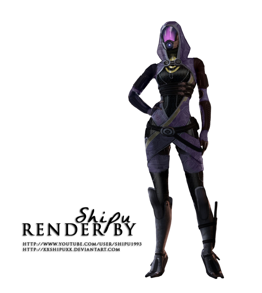 Tali Render - Mass Effect 2 by XxShipuxX