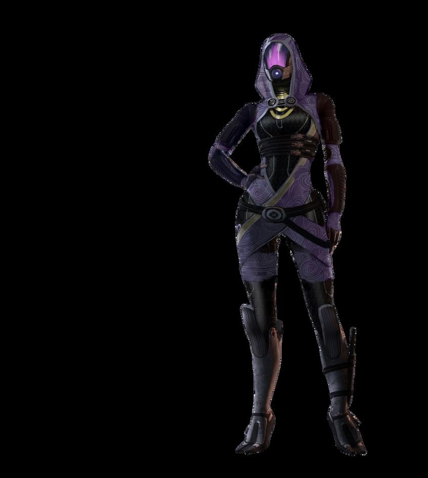 Tali Render - Mass Effect 2 by XxShipuxX