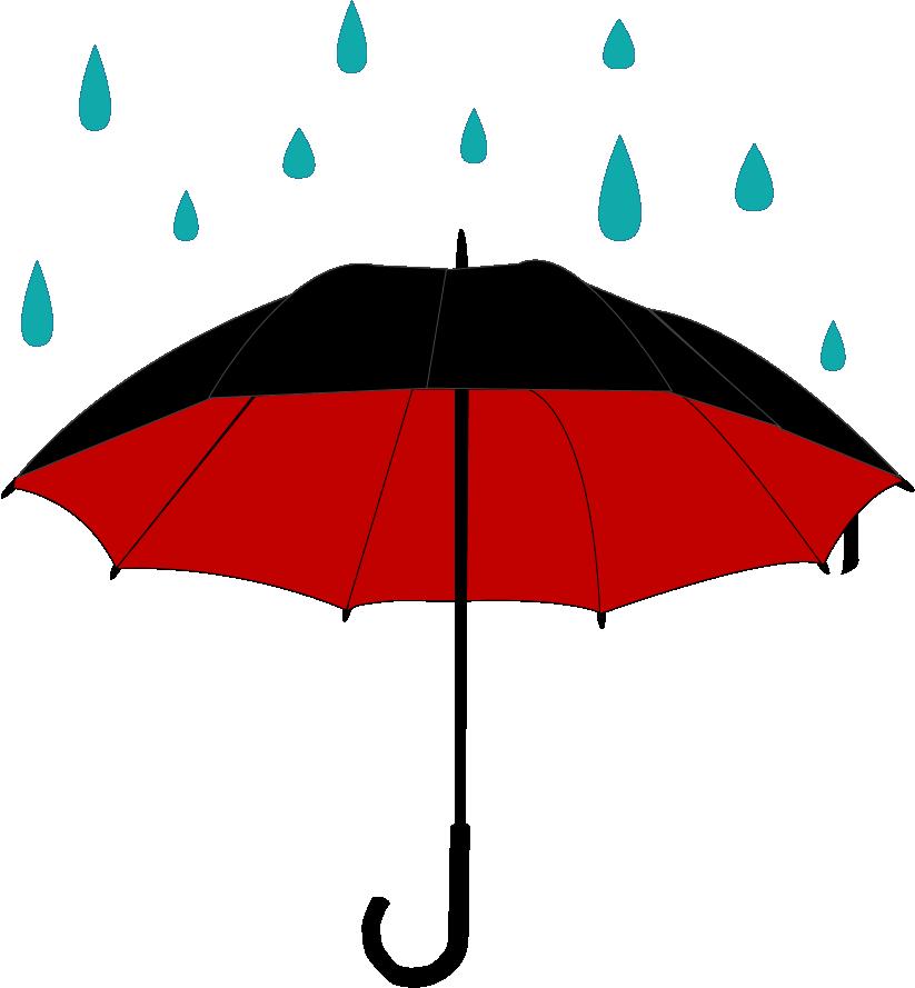 (Helena) Umbrella with rain by Ciatach on DeviantArt