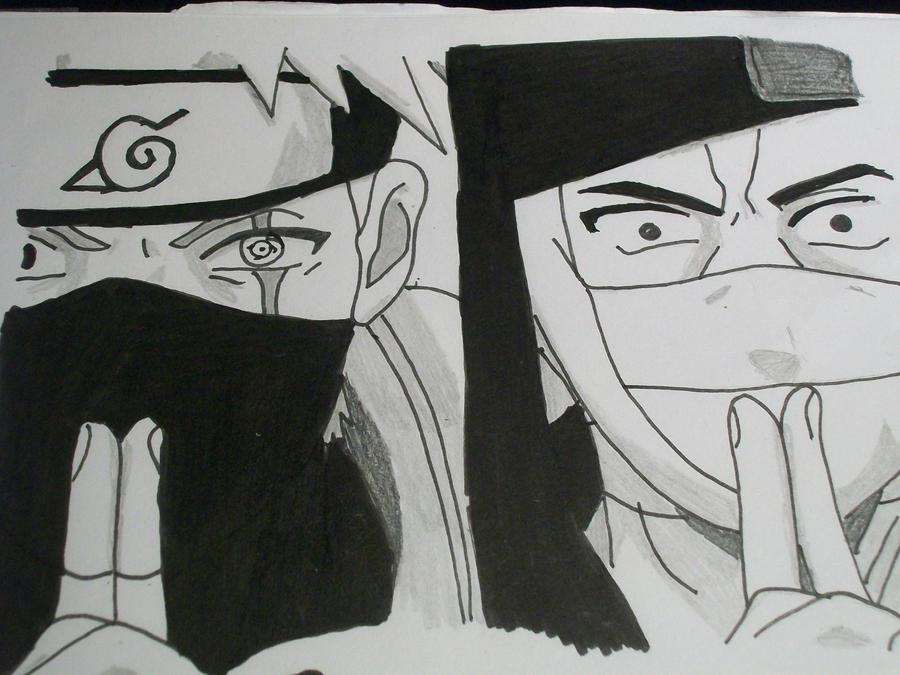 kakashi vs zabuza by reddodoragon on deviantart