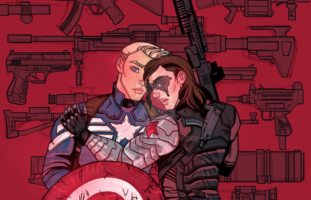 Captain America: Civil War by sharkhette