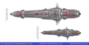 ESF WARSHIP COMPARISON No. 01A