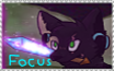Focusmon Stamp ( my first stamp ) by TheKirinWolf