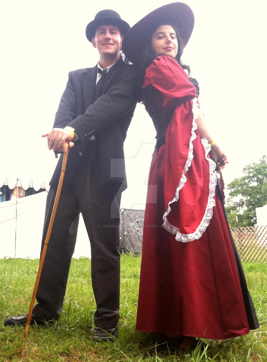 The Classy Couple by Oriwhitedeer