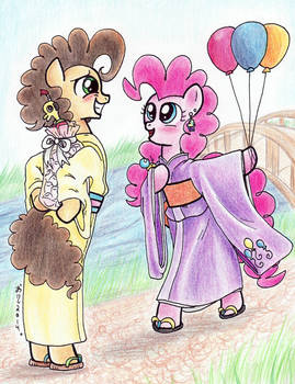 White Day for Cheese and Pinkie