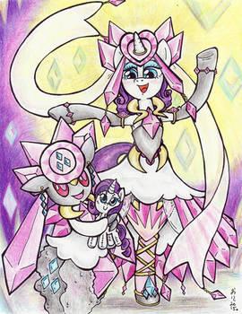 Fairy Legendary Ponymon: Rarity and Diancie