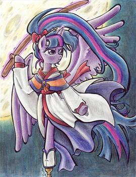 Commission: Outlaw Mare Princess Twilight Suzuka