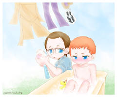 washing all by tencinoir