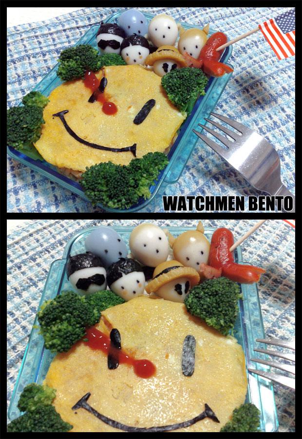 WATCHMEN BENTO by tencinoir