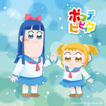 Pop Team Epic - highfive