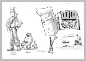 Comic Concept by kildeh