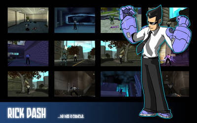 Rick Dash Wallpaper by kildeh