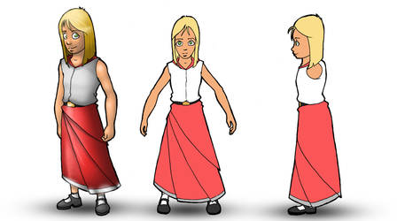 Girl Character Concept
