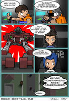 Mech Battle Page 3 by kildeh