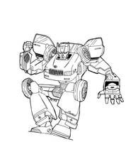 My Buick, the transformer. by kildeh