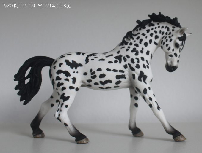Knabstrupper mare by Worlds-in-Miniature