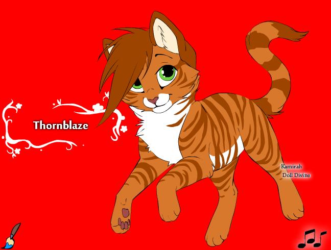 Thornblaze by Wanderisawesome