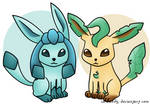 Glaceon Leafeon