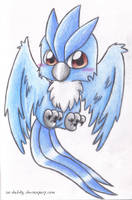 Articuno by Isi-Daddy