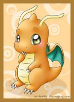 chibi Dragonite by Isi-Daddy