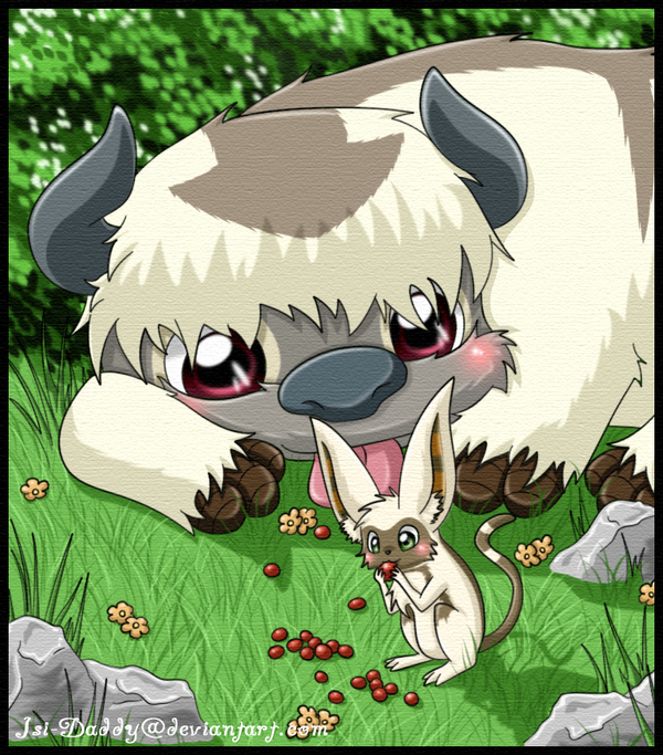 The Last Airbender Movie Appa: Momo And Appa By Isi-Daddy On DeviantArt
