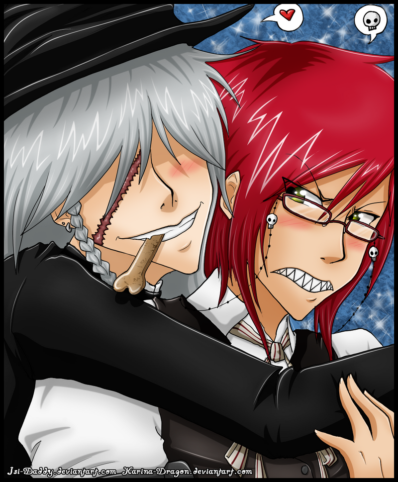 - Grell and Undertaker - by Isi-Daddy on DeviantArt
