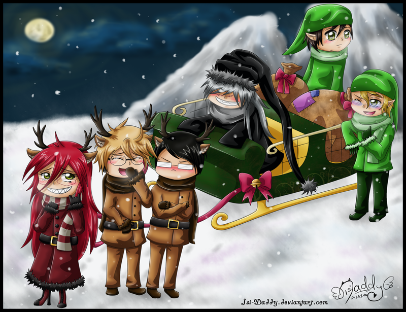 merry black christmas by isi daddy - Black Butler Christmas