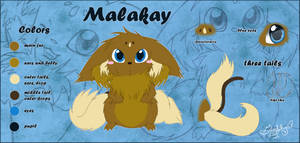 Malakay - reference sheet by Isi-Daddy
