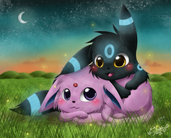 Let's Catch Some Fireflies by Isi-Daddy