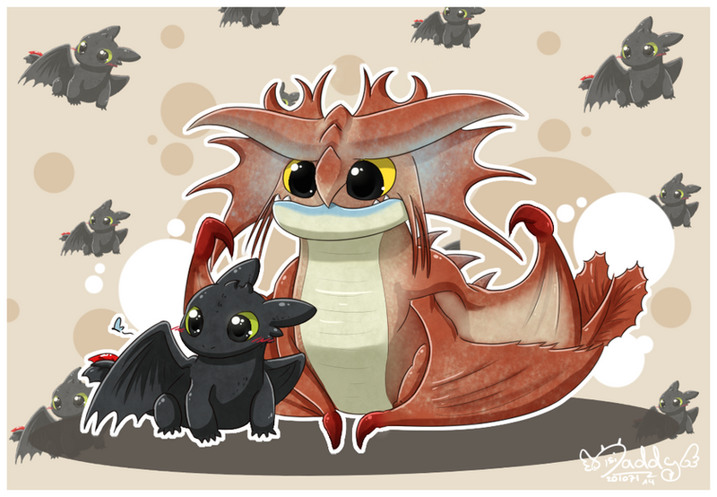 Toothless And Cloudjumper By Isi Daddy