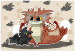 Toothless and Cloudjumper