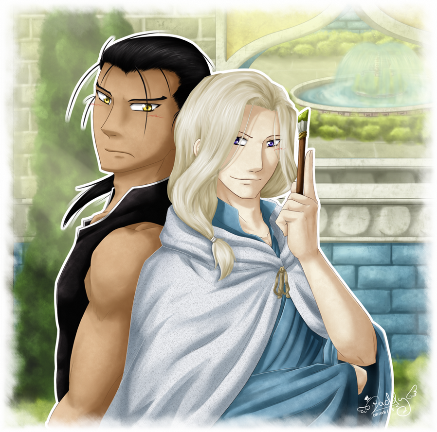 Daryun and Narsus - The Painter and the Knight