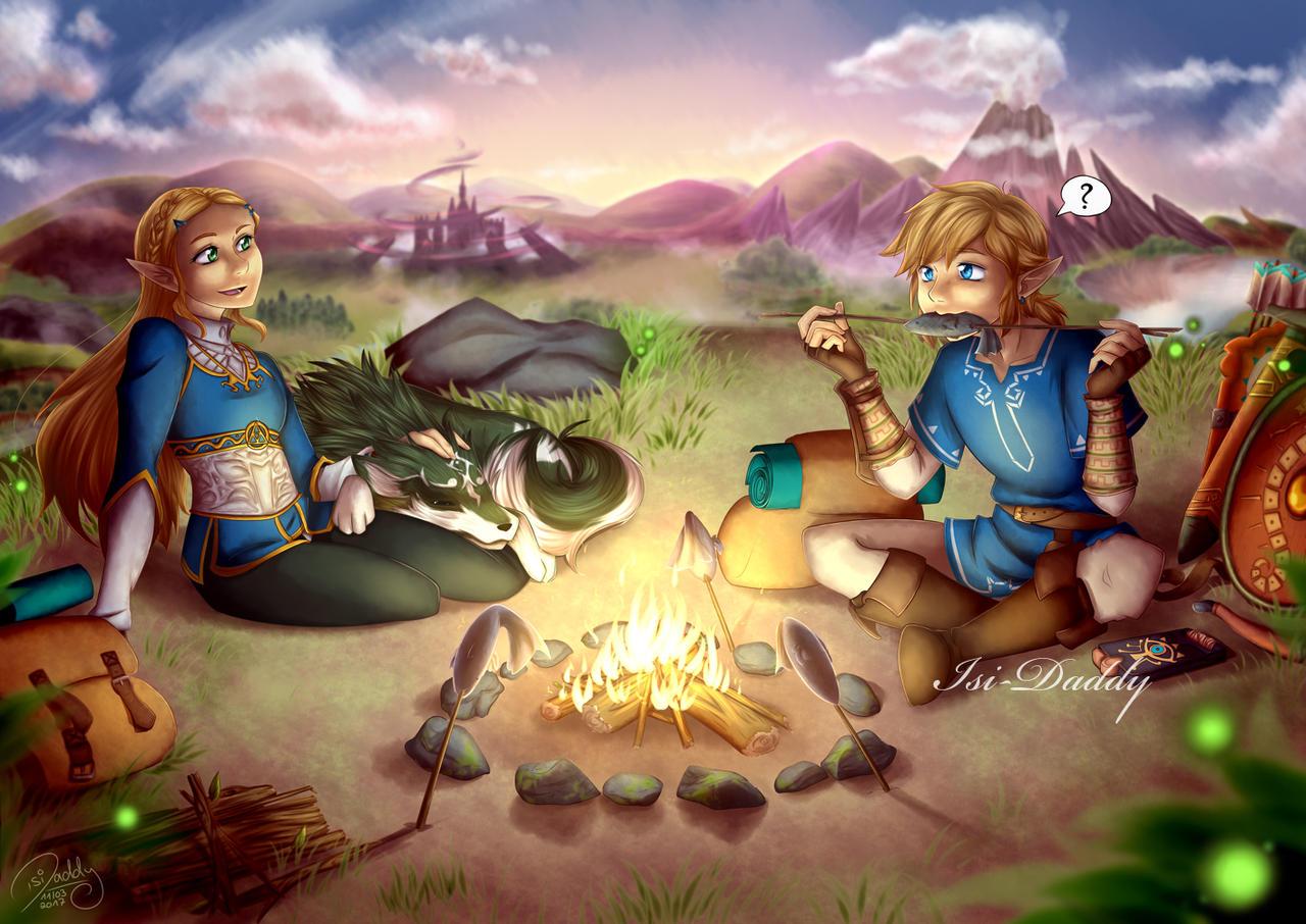 Zelda - Peaceful Moment