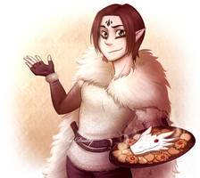 CM - Cat has Cookies by Isi-Daddy