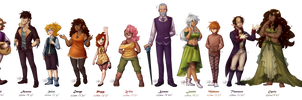 GoE - Character Line-Up by Isi-Daddy