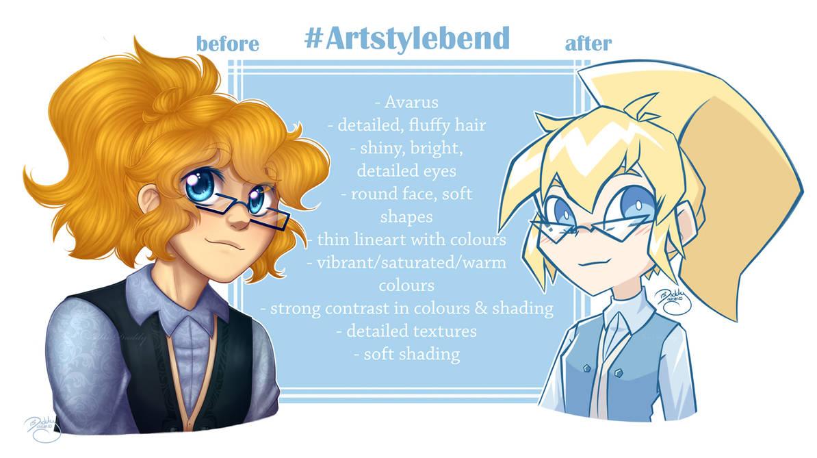 Artstylebend with Saira