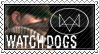 Watch Dogs Stamp by stampsmaker